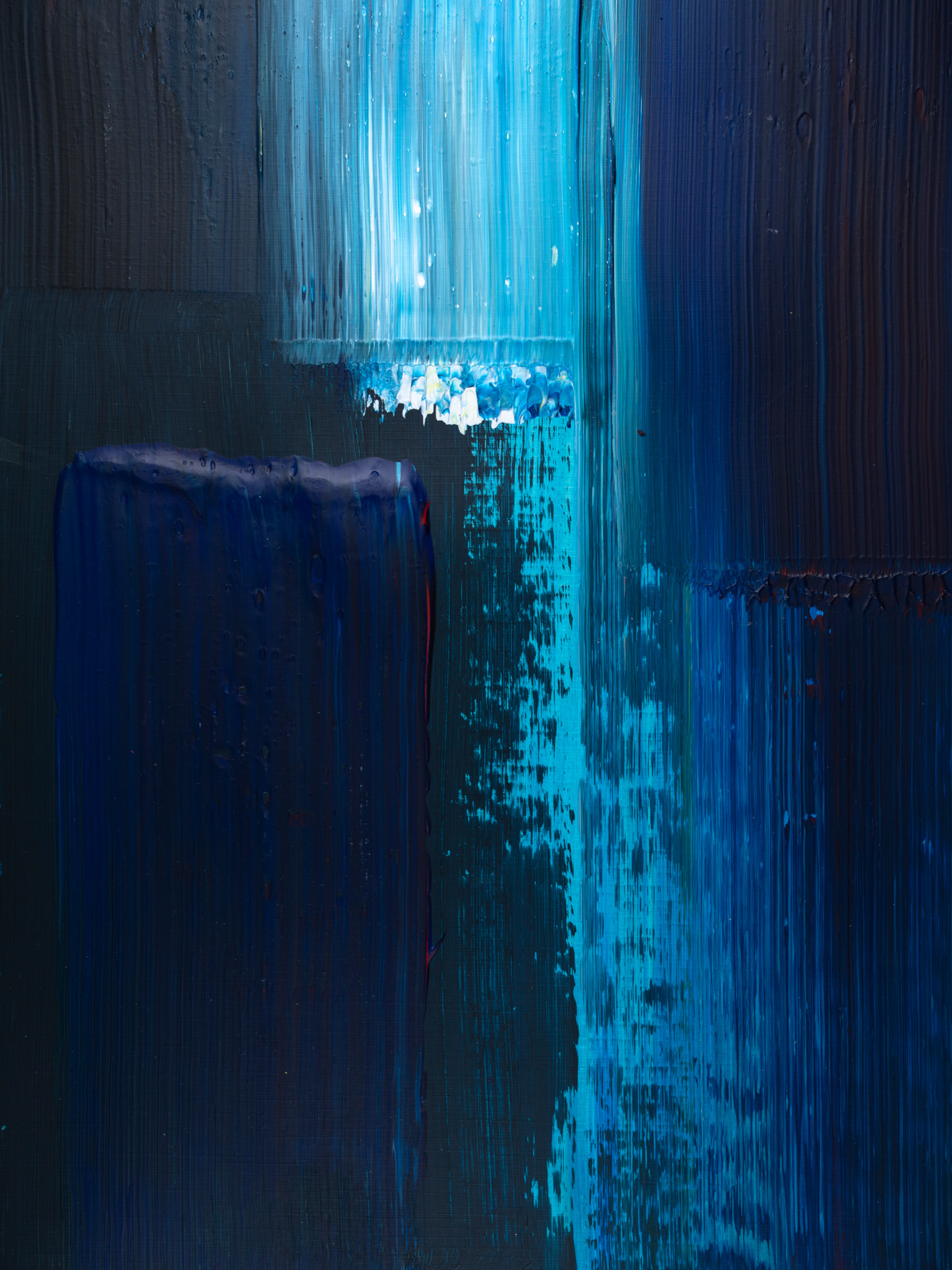 Blue and_Black 2853 1019, 30x40, © Ernest Bisaev