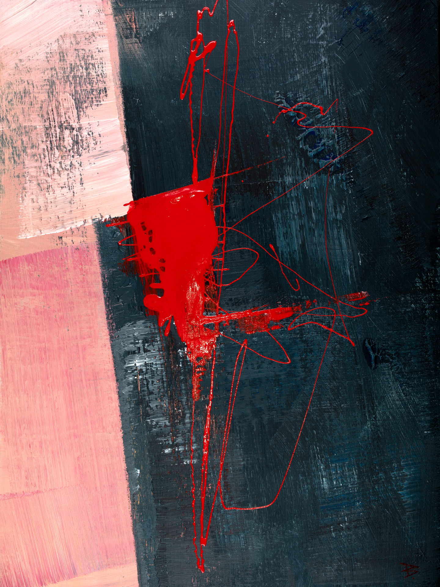 Gray_and_Red_10220_9_30x40cm, © Ernest Bisaev