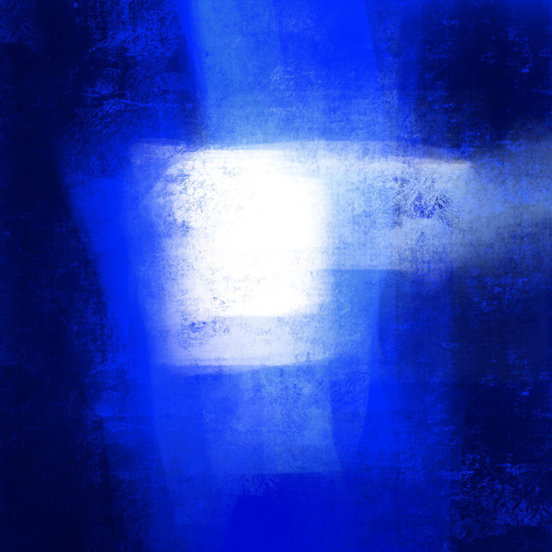 Blue 120920 1, Digital Art  © Ernest Bisaev 2020