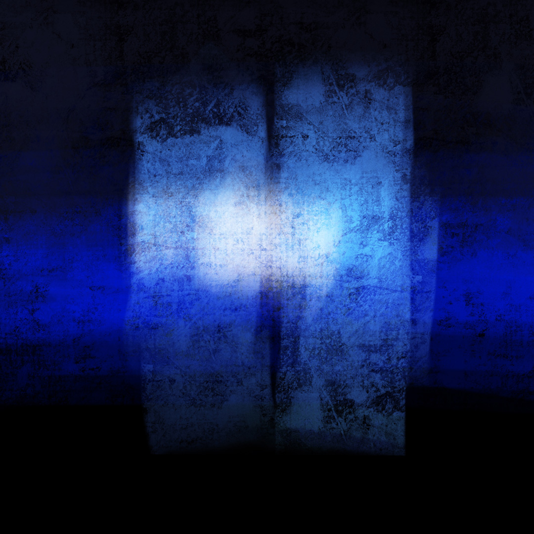 Blue and Black 80920 02, Digital Art  © Ernest Bisaev 2020